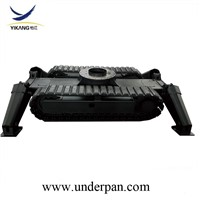 Small Rubber Track Undercarriage Chassis System for Sale