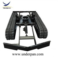 Desert Special Equipment Rubber Track Undercarriage with Rotative Bearing