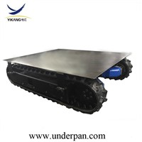Orchard Spray Crawler Equipment Robot Rubber Track Undercarriage