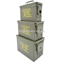 Ammo Box Mil-Tec US Military Steel Ammo Can Waterproof Ammunition Storage Box