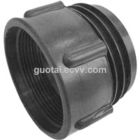 "IBC Tote Tank Adapter/Fitting Connector 63mm Male To 2"" BSP Female PP Plastic Drum Coupling"