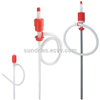 Polyethylene Siphon Barrel Pump - Hand Syphon Chemical Drum Pump