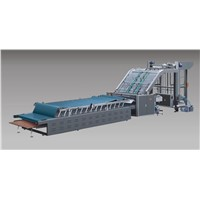 3 5 7 Ply Advanced Semi Automatic Flute Paper Laminating Machine
