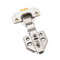Iron Two Way Clip On Soft Closing Kitchen Cabinet Hinge