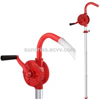 Cast Iron Oil Diesel Fuel Rotary Hand Drum Pump - JS32