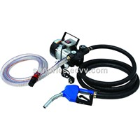 Diesel Fuel Transfer Pump 220V Mobile Diesel Oil Dispensing Pump Kit 110V with Hoses & Fuel Dispenser Nozzle