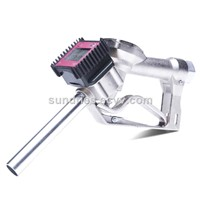 "Manual Fuel Oil Diesel Kerosene Gasoline Nozzle BSPT/NPT 1"" Aluminum Fueling Gun with Digital Flow Meter"