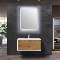 Wood White Floating Single Bathroom Vanity - TONA. Com