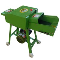 Agriculture Machinery Chaff Cutter Small Household Grass Cutting Feed Machine for Cattle & Sheep