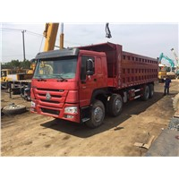 Special Offer Sinotruk Used HOWO 8x4 Tipper 12 Wheels 375hp Dump Tipper Truck