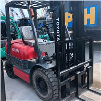 Used Toyota Forklift 3ton Diesel Manual Forklift Truck CPC30 FD30 Mechanical Transmission