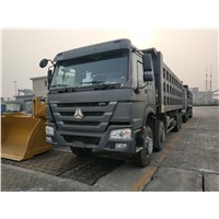 SINOTRUK HOWO 8*4 DUMP TRUCK 40T IN STOCK (the Configuration Can Be Replaced On Demand)