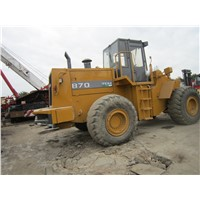 Used Japan Tcm 870 Wheel Loader/ Loader Cheap Price 870/ Tcm 830 Low Working Hour