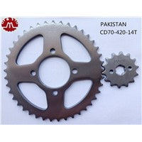 OEM Honda CD70 Motorcycle Sprocket Chain for Pakistan