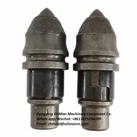 BETEK B47K Rock Auger Teeth Bullet Teeth for Rotary Drilling & Foundation Drilling