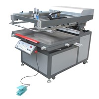 Oblique Arm Type Flat Automatic Screen Printing Machine
