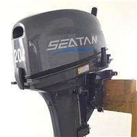 "Brand New 20hp Tohatsu Outboard MFS20CS, 15"" Shaft, Manual Start Motor Engine"