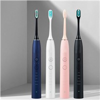Dental Care Teeth Whitening Sound Wave Type Toothbrush Rechargeable Electric Toothbrush