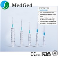 Safety Disposable Syringe with Needle