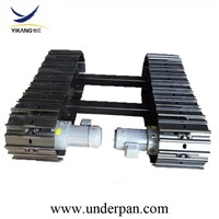 1-30 Ton Hydraulic Crawler Steel Track Undercarriage for Construction Equipment