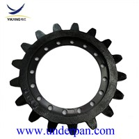Crawler Dumper Rubber Track Undercarriage MST 800 Sprocket by Factory Manufacturer
