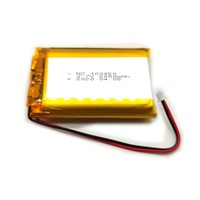 Factory Li Polymer Battery 3.7V 103450 2000mAh Lithium Polymer Battery for Wireless Tracker