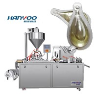 DPP120Y Flat Plate Alu-PVC Bee Honey Jam Olive Oil Cheese Perfume Liquid Blister Packing Machine