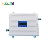 Factory Direct-Selling Triple Band Signal Repeater 2g 3G 4G Booster Frequency 900/1800/2100MHz