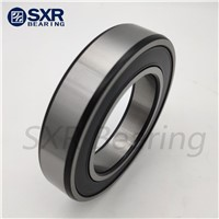 Good Quality China Brand Sxr Chrome Steel Gcr15 Black Edges Black Corners Deep Groove Ball Bearing 6205 2RS ZZ KA