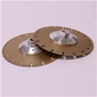 Cast Iron Cutting Disc - Vacuum Brazed Wheel