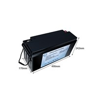 12v 150ah Lifepo4 Lithium Ion Battery Packs for RV/EV/Solar Storage/Boat