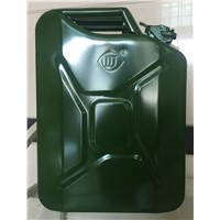 20L Metal Jerry Can to Fill with Gasoline