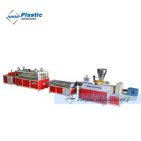 PVC / WPC Door & Windows Profile Exusion Machine China Manufacturer Price