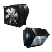 WEX sidewall axial exhaust fan / WSP sidewall axial supply fan from