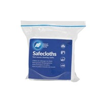 Bag of 50 Viscose Rayon Wipes for Computer Screens & Office Equipment