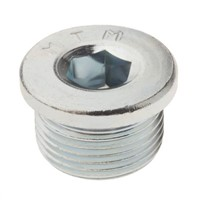 Steel Blanking Plug w/ Sealing Ring G3/4