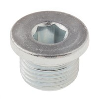 Steel Blanking Plug w/ Sealing Ring G3/8
