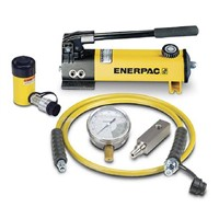 Enerpac Single, Portable Portable Hydraulic Cylinder - Lifting Type, SCR55H, 5t, 127mm stroke