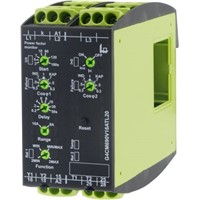 Tele Power, Temperature Monitoring Relay With DPDT Contacts, 12  500 V ac Supply Voltage, 1, 3 Phase