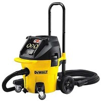 DeWALT DWV902M Cylinder Wet and Dry Vacuum Cleaner for Dust Extraction, 4.6m Cable, 110V, UK Plug
