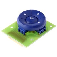 Blue 5 way PCB mounted switch