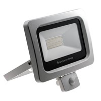 50W PIR SMD LED Floodlight - 4,000 lm