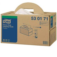 Tork HD Cleaning Cloth White 1x200