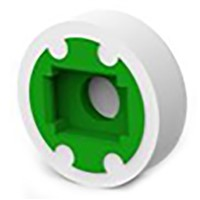 Green Tactile Switch for use with Illuminated Tactile Switch