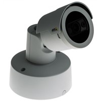 AXIS Communications Companion Bullet LE Network Outdoor IR CCTV Camera, 1920 x 1080 Resolution, IP66