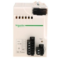 Schneider Electric PLC Power Supply Modicon M340 Series Modicon M340, 24  48 V dc, 24V dc, 4.5 A 31.2W