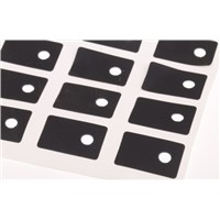 Thermal Interface Pad, Q-Pad II, 2.5W/mK, 19.05 x 12.7mm 0.152mm, Self-Adhesive