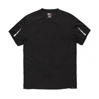 Dickies DP1002 Black Men's Polyester T-Shirt, UK- M, EUR- M
