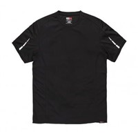 Dickies DP1002 Black Men's Polyester T-Shirt, UK- XL, EUR- XL