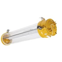 1 x 75 W, Tubular LED Fixture Hazardous Area Light Fitting, 1, 2, 21, 22, LED, Temp T6, 100  254 V ac